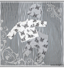 Нарядный сет для новорожденных Мой Крольчонок