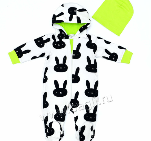 Фото Комплект из футера Модный Заяц, Baby Boom