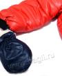 Фото Комбинезон-конверт IceBaby: изософт и овчина. Красный. Пиколино