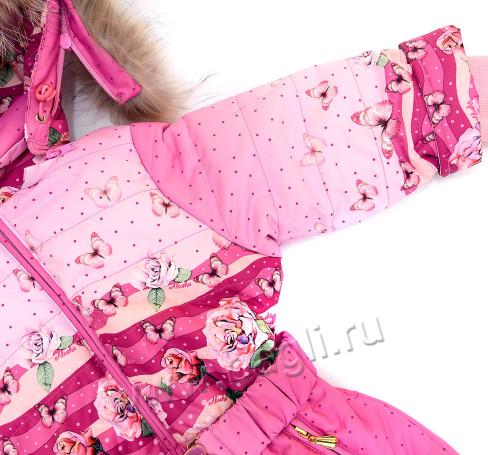 Фото Мембранный комбинезон Butterfly розовый, Алюша