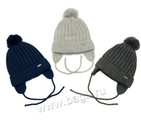 Фото Зимняя шапка для мальчиков Boys 48-50. Grans, Польша