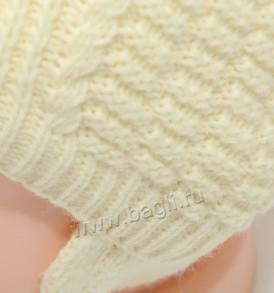 Фото Зимняя шапка крупной вязки. Grandcaps, Россия