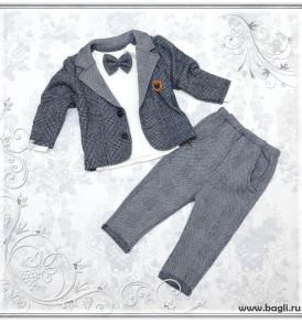 Фото Костюм для новорожденных мальчиков Boss. Турция