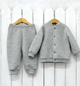 Фото Комплект из капитония, серый. Baby Boom