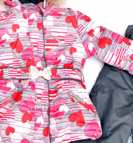 Фото Мембранный костюм с натуральной опушкой My Love. Алюша