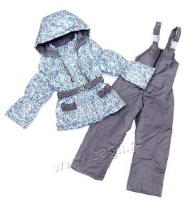 Фото Весенний костюм для девочки Незабудка. Topland