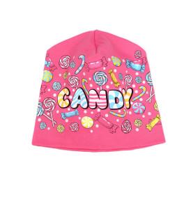 Фото Шапочка двухслойная хлопковая Candy