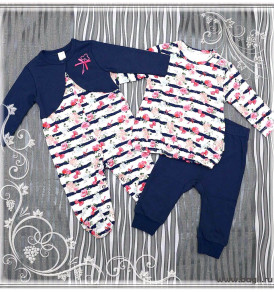 Фото Комплект для девочки Ключики-Цветочки Baby Boom