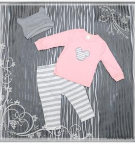 Фото Детский комплект Мышка розовый. Baby Boom