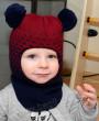 Фото Зимний шлем Prikinder бежевый. Размер 48-50
