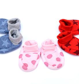 Фото Пинетки для новорожденных из капитония Baby Boom