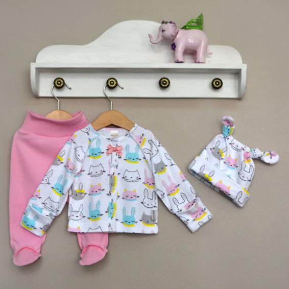 Фото Сет для новорожденных девочек Зайка Baby Boom