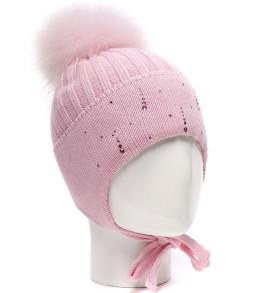 Фото Зимняя шапка на изософте Treasure розовый, Ocean Angel