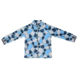 Фото Флисовая кофта Rocks голубая. Ремар