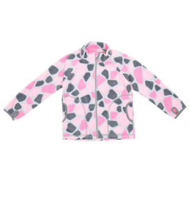 Фото Флисовая кофта Rocks розовая. Ремар