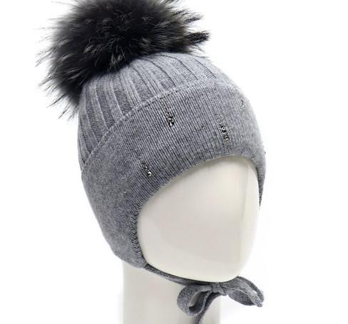 Фото Зимняя шапка на изософте Treasure серый, Ocean Angel