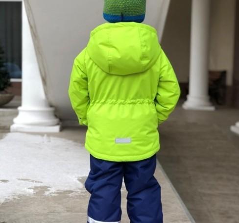 Фото Мембранный комплект для мальчика Lapland лайм