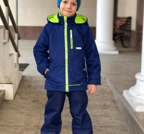 Фото Мембранный комплект для мальчика Lapland темно-синий