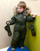 Фото Мембранный комбинезон Nika Kids Fashion хаки
