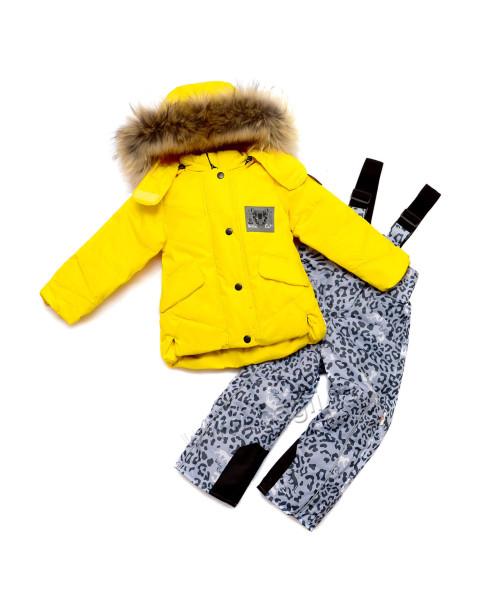 Фото Зимний мембранный комплект Пума желтый. Favourite, Беларусь